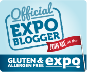 GFAF Expo Blogger Badge (Gluten Free and Allergen Free Expo, Secaucus, NJ)