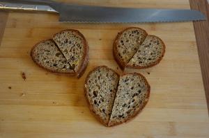 bread hearts