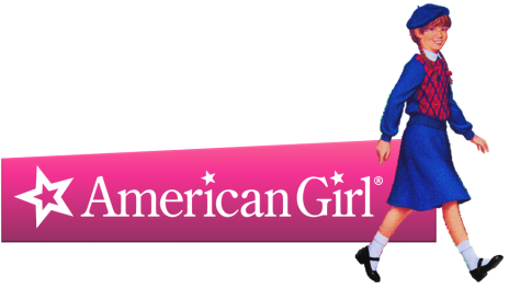 American Girl logo (with Molly)