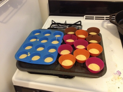 muffin tin socca