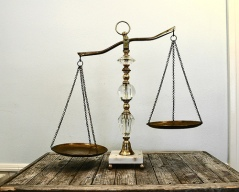 scales (symbol of Libra)