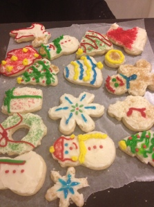 Sugar cookies! (from Artisanal Gluten-Free Cooking)