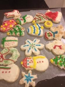 Sugar cookies! (from Artisanal Gluten-Free Cooking)