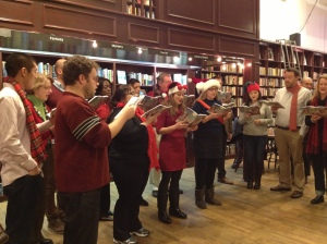Carols! (Listening in public, singing in private.)